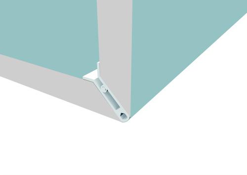 Knauf Klick Board®, des angles épurés en un seul clic