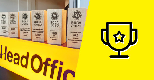 6 awards! HeadOffice scores BIG TIME at the BOCAs