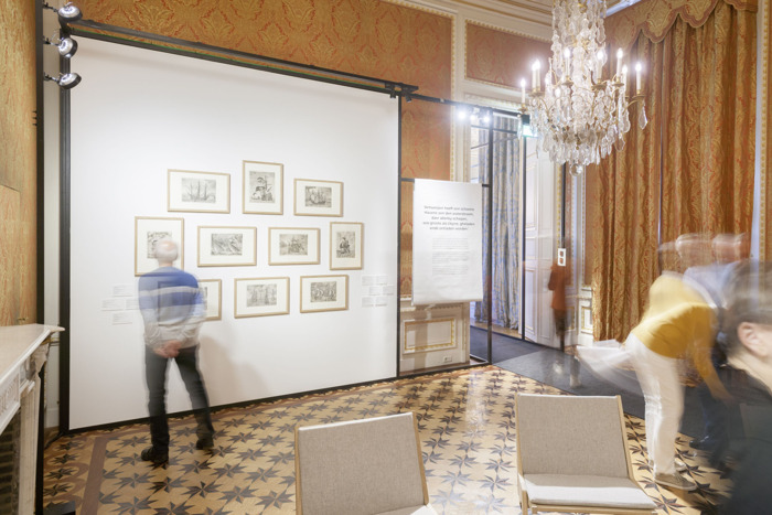 Volledige collectie Bruegelgrafiek tentoongesteld in KBR
