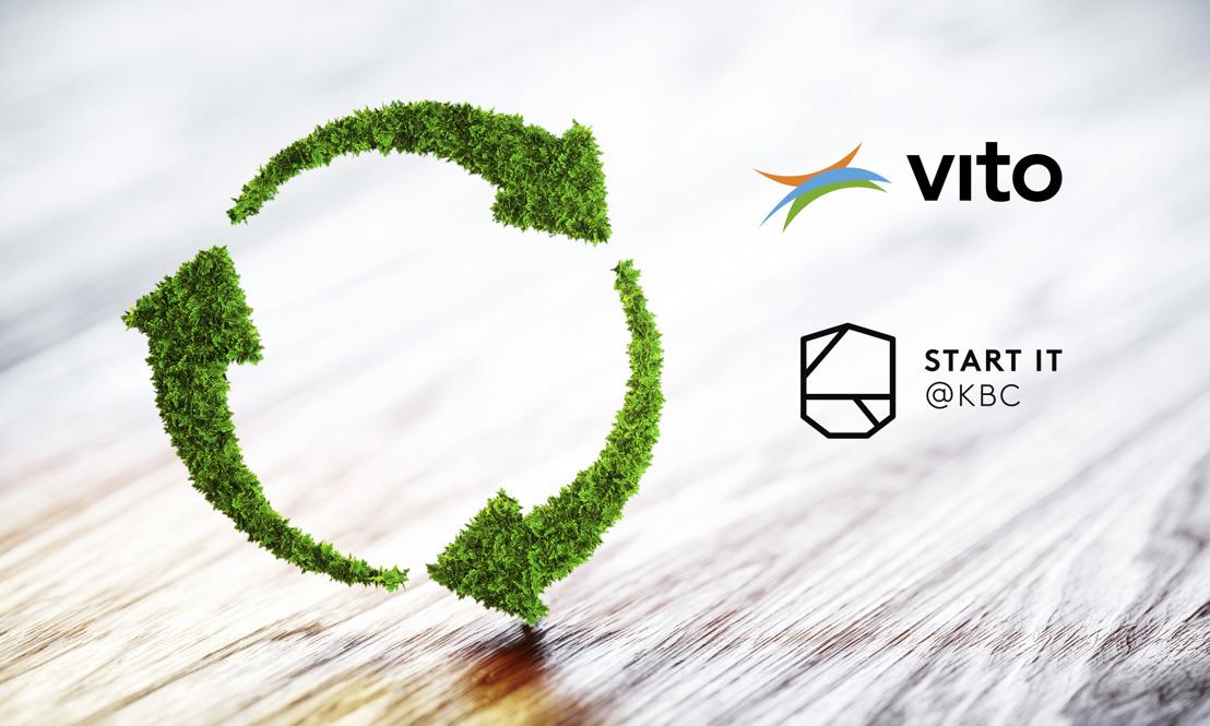 Start it @KBC and VITO are speeding up a circular economy