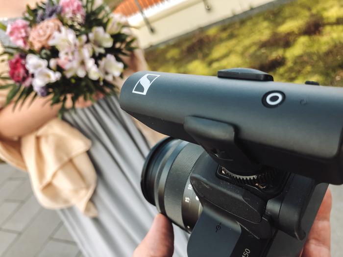 Bild und Ton für ein ganzes Leben: Perfekte (Moment-) Aufnahmen am Hochzeitstag mit Sennheiser