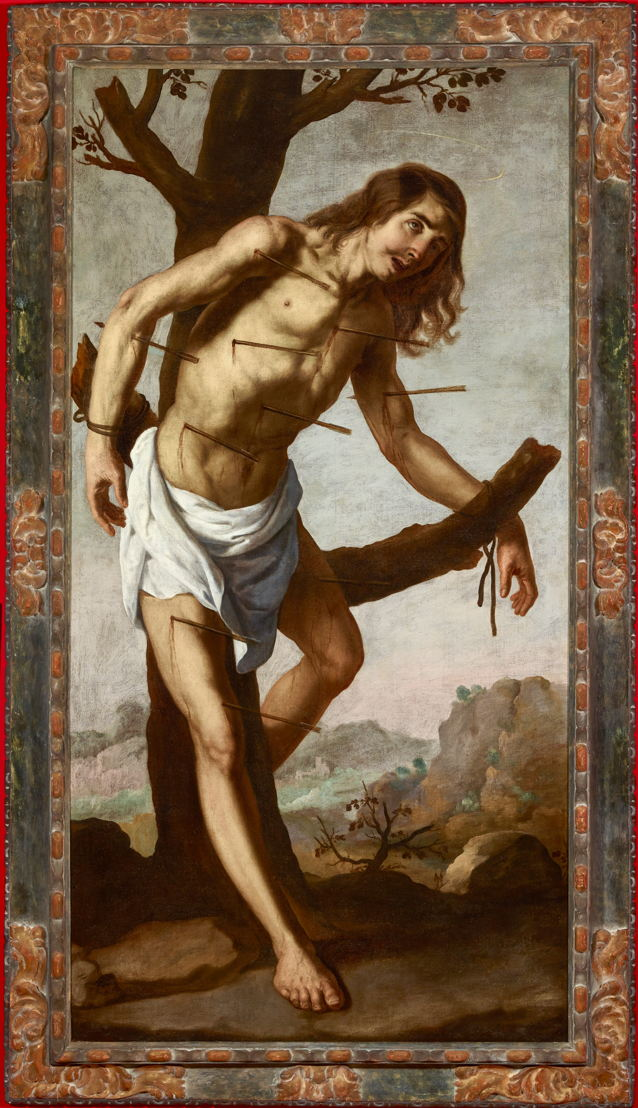 Francisco de Zurbarán, The Martyrdom of Saint Sebastian, ca. 1650-55, Private collection  Musée national d'histoire et d'art Luxembourg
