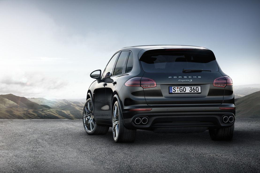 Porsche Cayenne Platinum Edition: Cayenne S Diesel