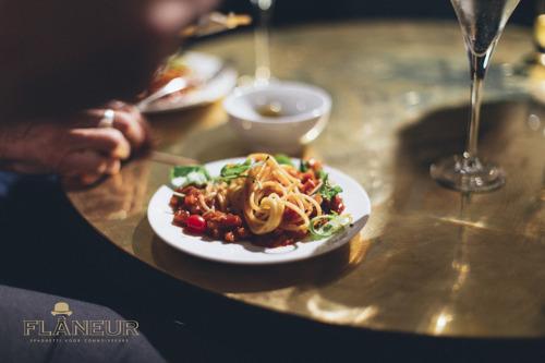 One dish restaurant Flâneur:  nieuwe hotspot voor de betere bolognaise