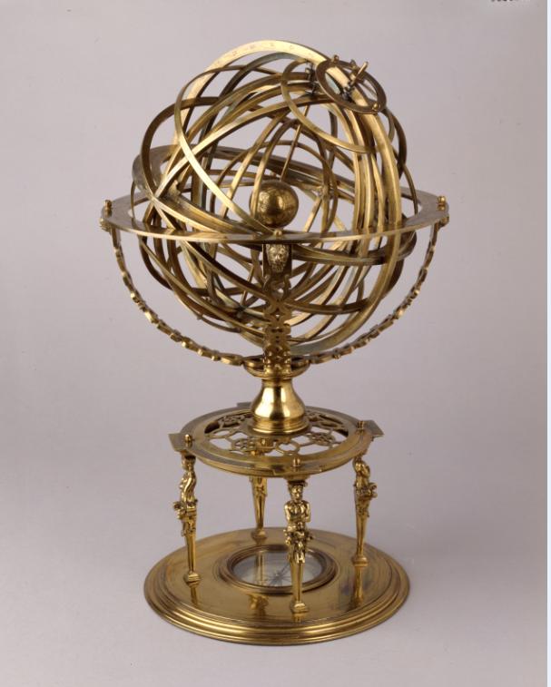 In Search of Utopia © Armillary Sphere, 1573, Bayerisches Nationalmuseum, Munich.
