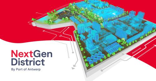 Le NextGen District comme futur haut lieu de l'économie circulaire au sein du port d'Anvers