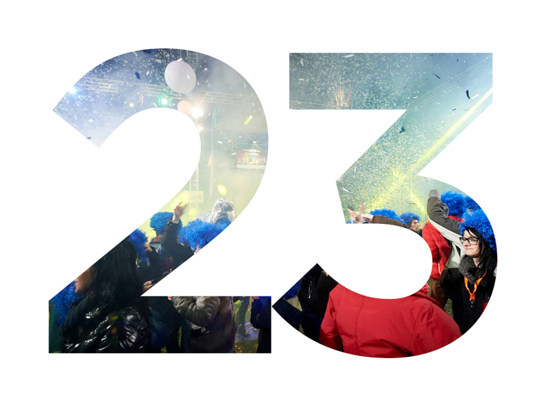 In juni stond VO 23 dagen aan het roer van events!