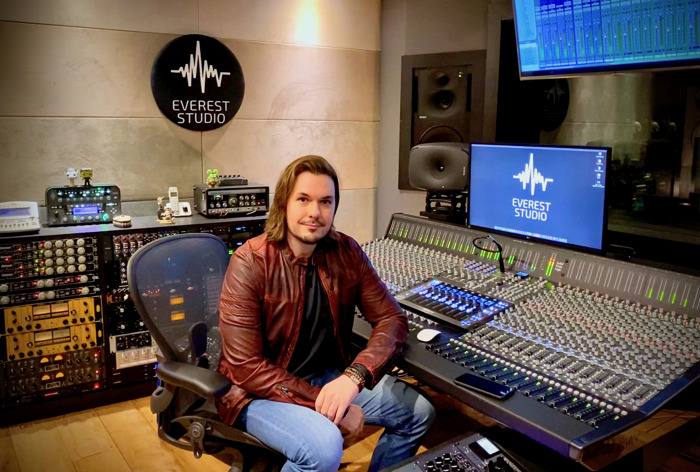 São Paulo's Everest Studio Takes the High Road with Solid State Logic ORIGIN Console and UF8 Controller
