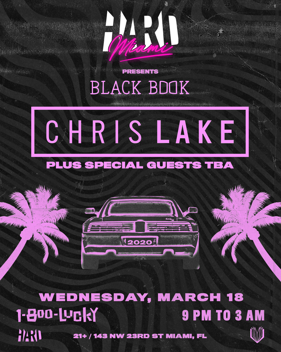 HARD Miami presents : Black Book Records Party with Chris Lake + Special Guests