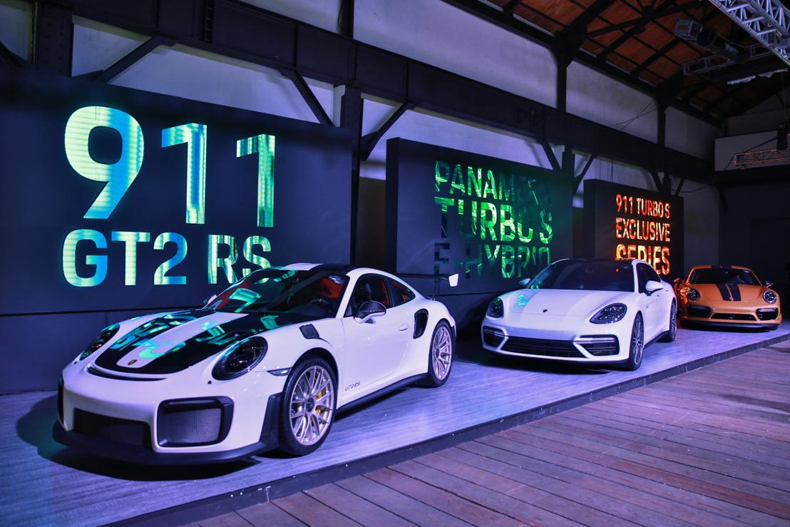 Libera Porsche en México casi 2,000 caballos de potencia