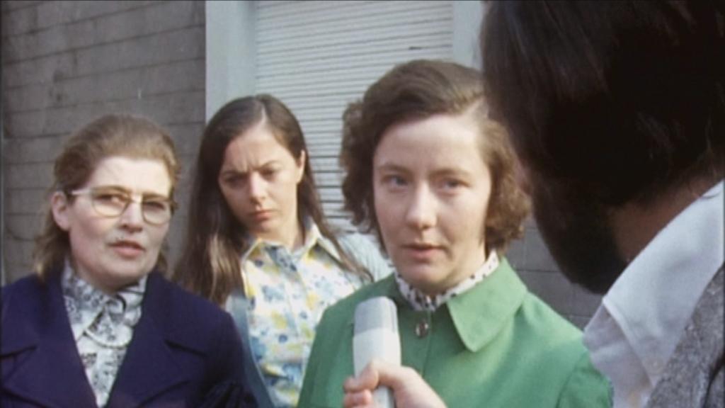 De werkende mens - Aflevering 2 : Vrouwen op de rand van ... - Stakingleidster Annie Verhoeyen in 1974 - (c) VRT