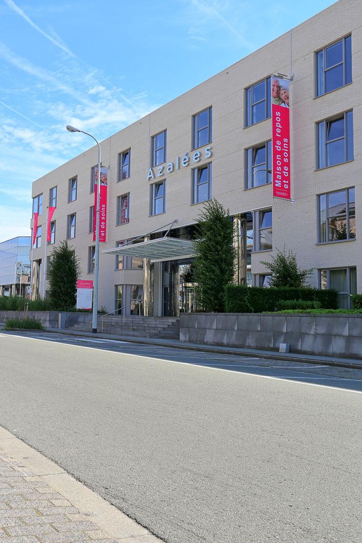Het gebouw heeft meer weg van een hotel dan van een rusthuis