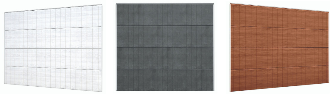 Portes de garage Hörmann: Un nouveau style de portes sectionnelles personnalisées