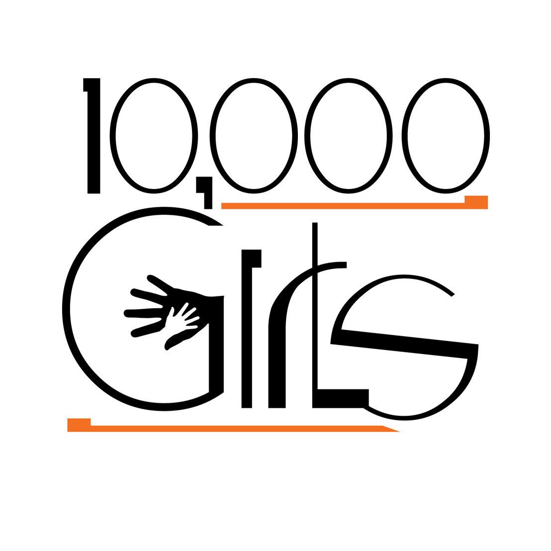 10,000 Girls logo