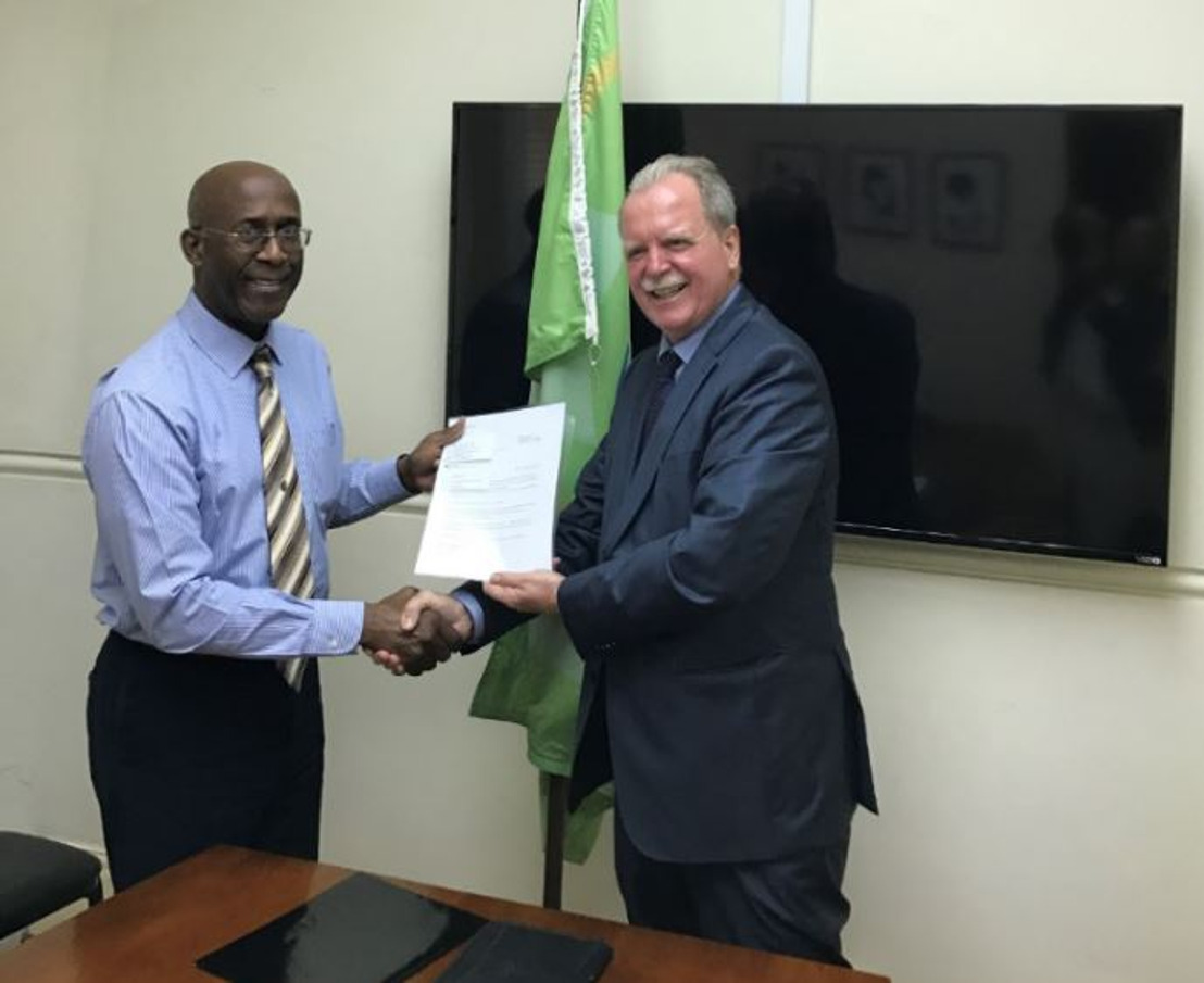 Ambassador of the Federal Republic of Germany to the OECS Presents Credentials
