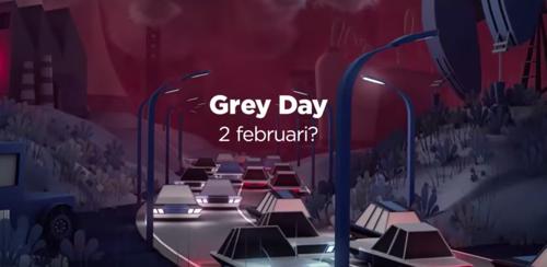 mortierbrigade en Canvas lanceren Grey Day: de dag waarop de groene energie op is.