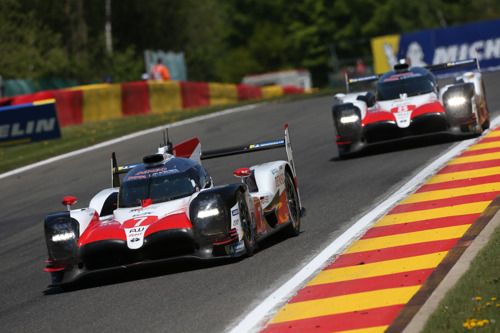 TOYOTA GAZOO RACING FLAT-OUT FOR WEC SPA WEEKEND
