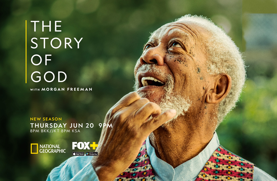 Morgan Freeman embarks on a new global quest to unlock the mysteries of spirituality and the shared transformative beliefs that bind humanity, in the new season of The Story of God with Morgan Freeman