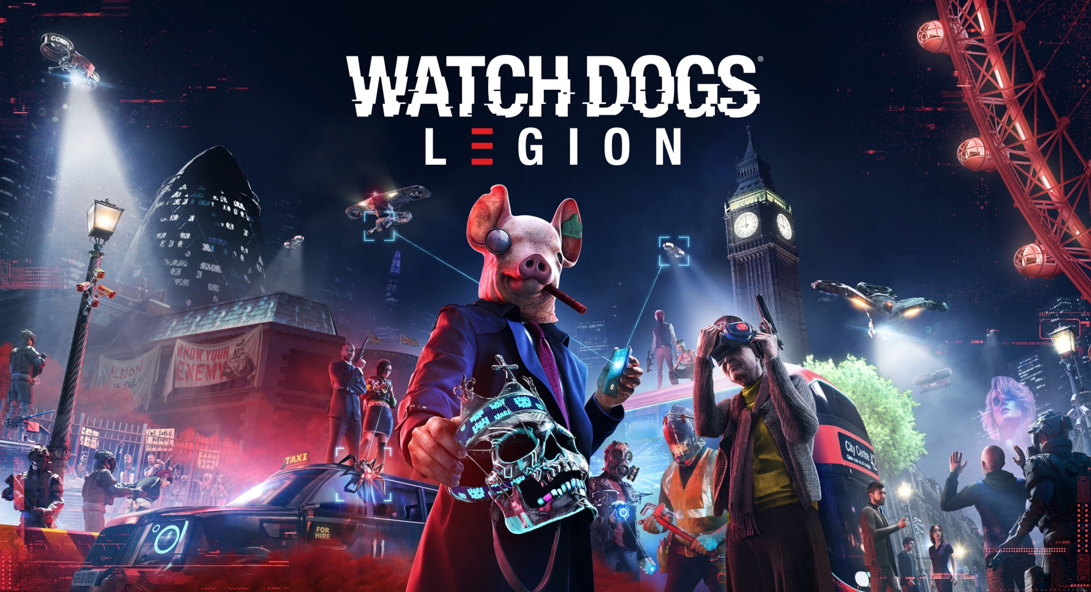 Preview: WATCH DOGS: LEGION RELEASE WIRD MIT GROSS ANGELEGTER INFLUENCER-KAMPAGNE BEWORBEN