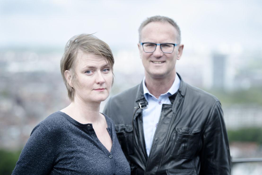 Ruth Joos en Lieven Verstraete (c) VRT / Tom Cornille