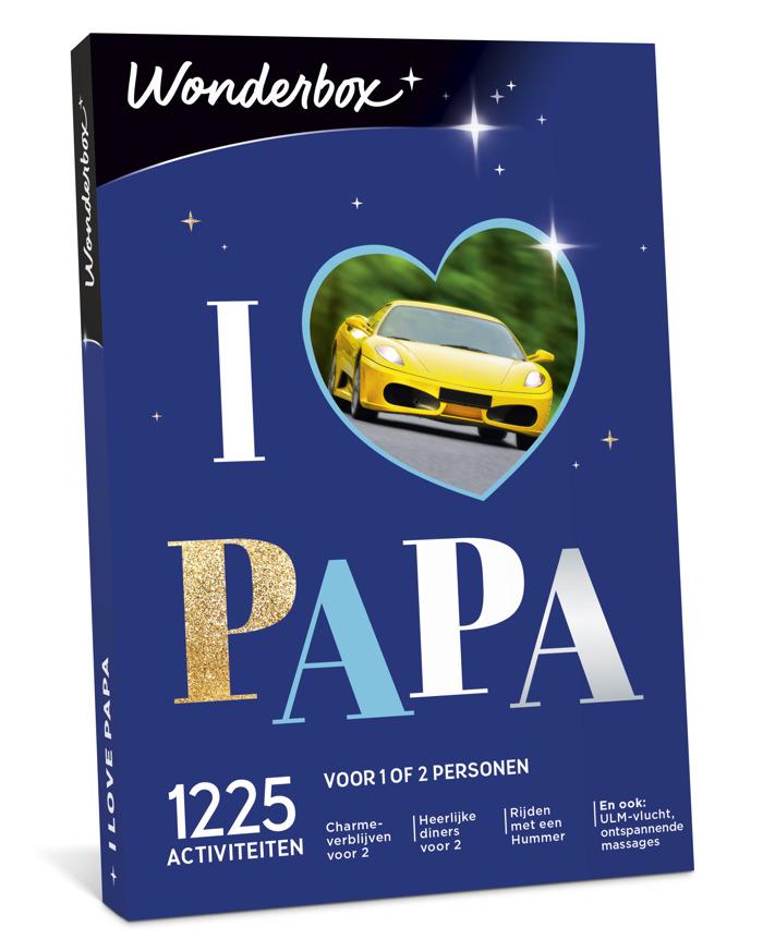 Schenk je papa op 10 juni een onvergetelijke ervaring dankzij Wonderbox!
