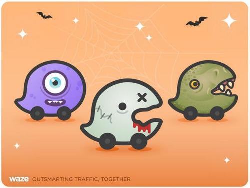 Evita accidentes y trancones en Halloween con Waze