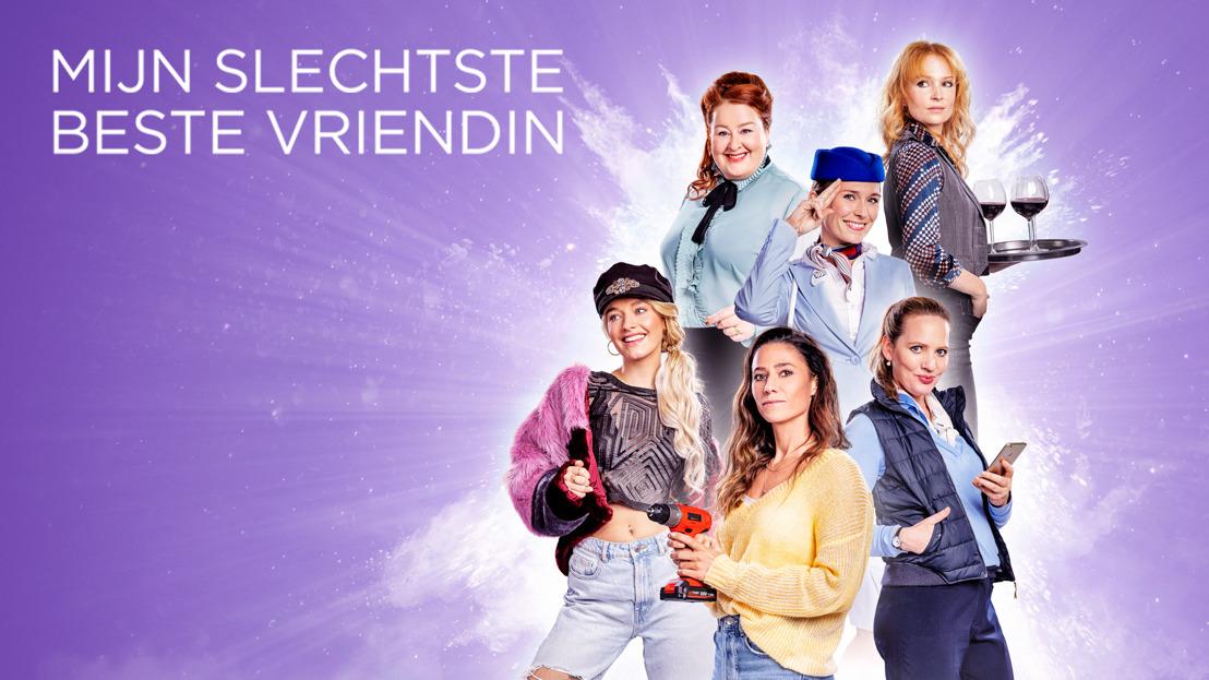 Streamz kondigt tweede seizoen aan van 'Mijn Slechtste Beste Vriendin'