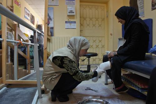 Syrië: 3 miljoen mensen met verwondingen en handicaps