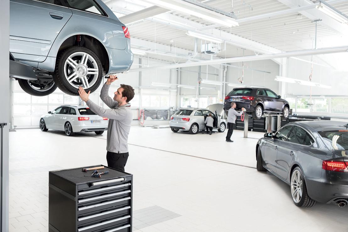 Campagne de recrutement « Want to work for Audi » pour le réseau de concessionnaires Audi