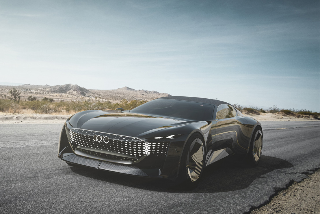 Audi skysphere concept – de toekomst is veelbelovend