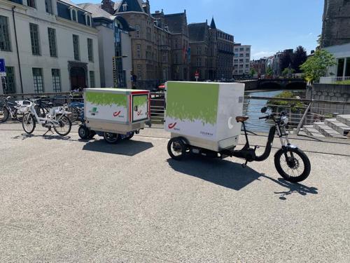 Sligro-ISPC en bpost starten testproject met uitstootvrij gekoelde leveringen aan horeca in Gent