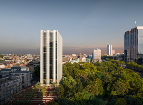 Press invitation: programme of Brussels architecture week and visit to 2 interesting projects