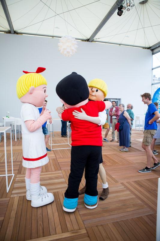 Striphelden openen het Cartoonfestival