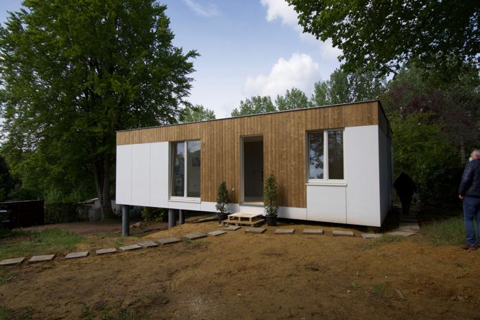 Zes nieuwe kleine, energiezuinige en betaalbare demowoningen in Huldenberg