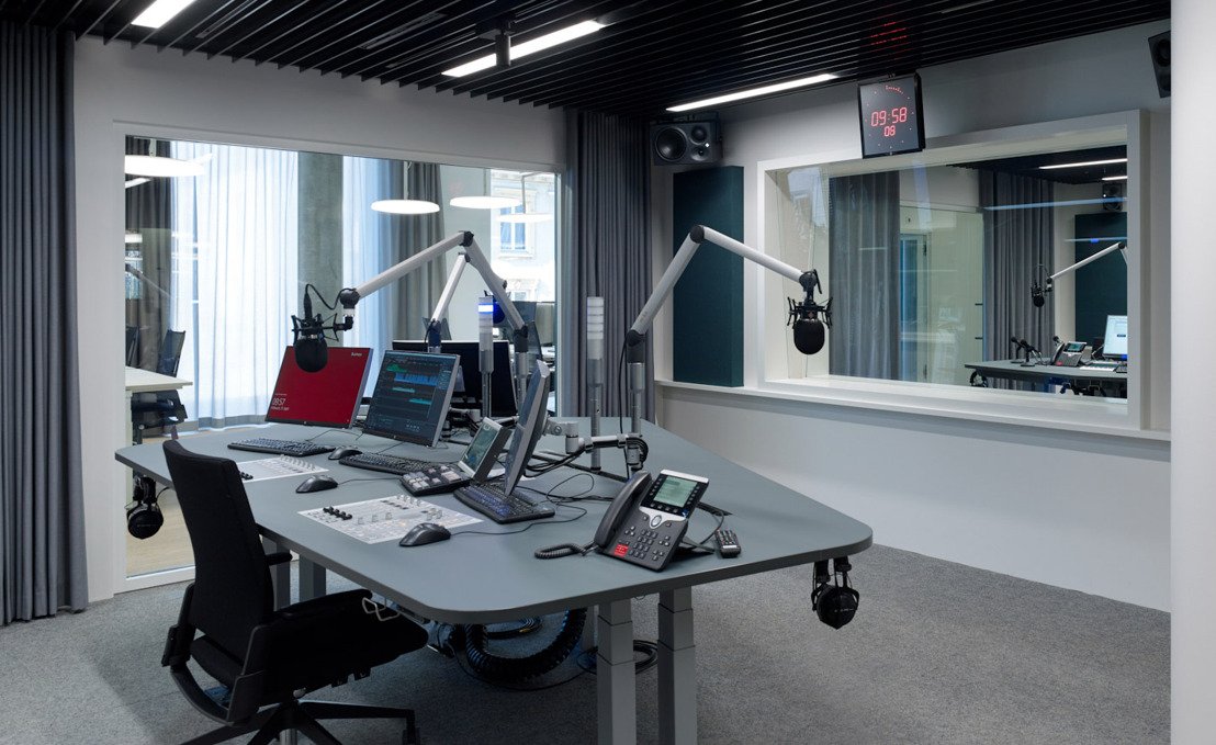WSDG Delivers Three Floors of Acoustically Perfected Studios for Swiss National Broadcaster SRF