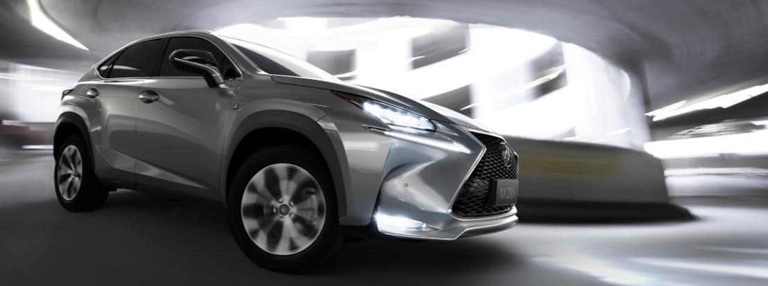 Wereldpremière van de nieuwe Lexus NX