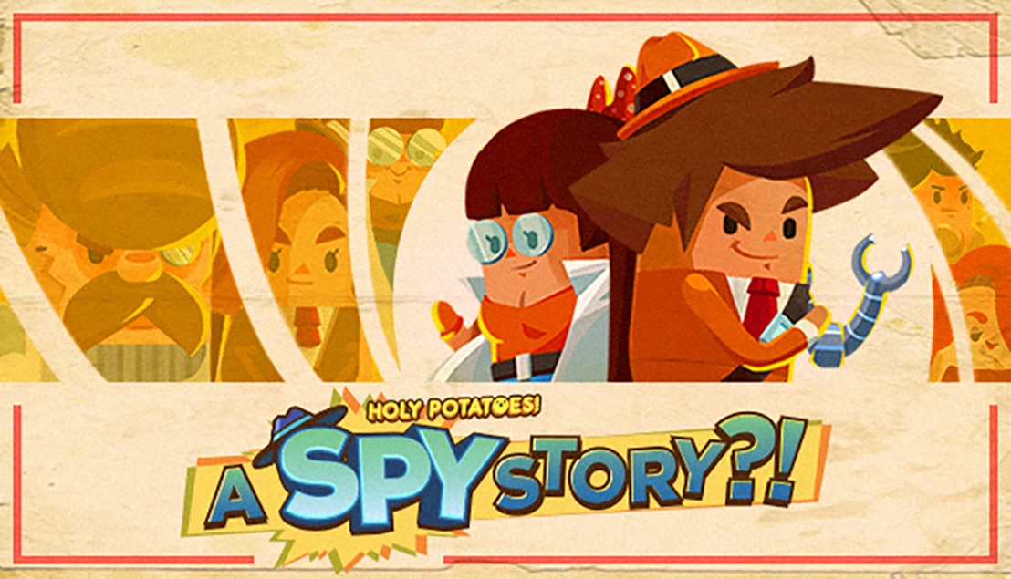 Holy Potatoes! A Spy Story?! will be released today