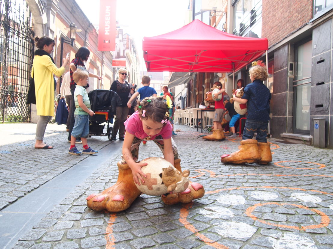 Start zomerprogramma in de Museumspelstraat (c) Andy Merregaert