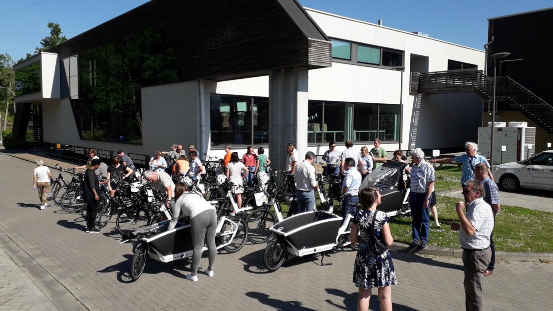Provincie laat werknemers gemeente Affligem proeven van e-fiets