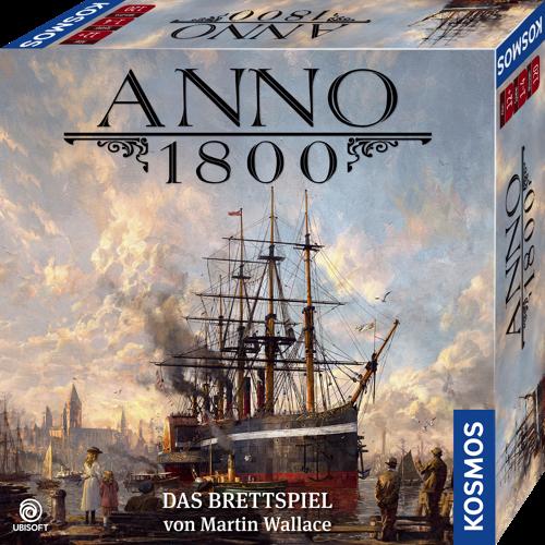 ANNO 1800: DAS BRETTSPIEL AB SOFORT ERHÄLTLICH