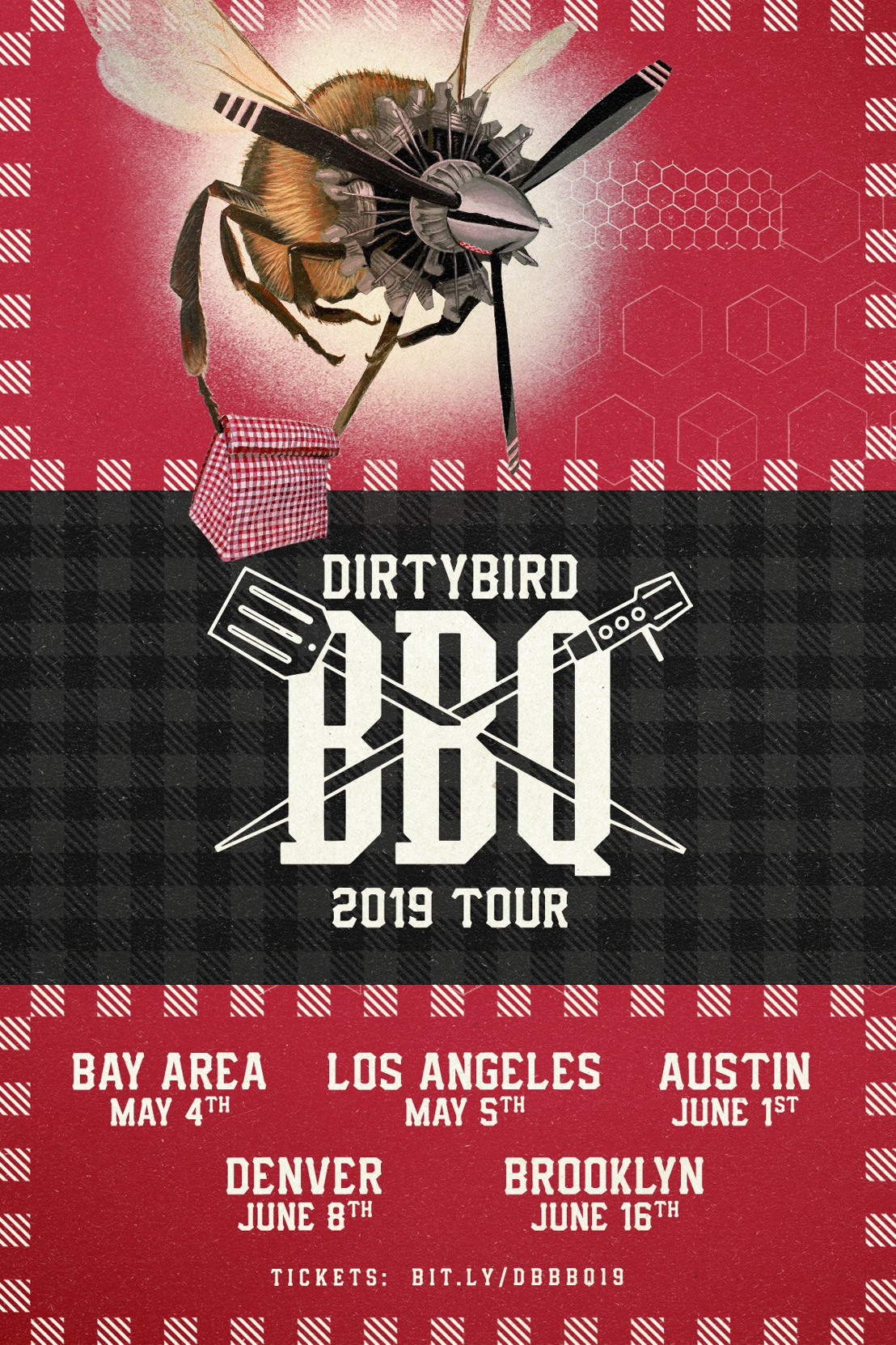 DIRTYBIRD Announces 2019 BBQ Tour Lineups