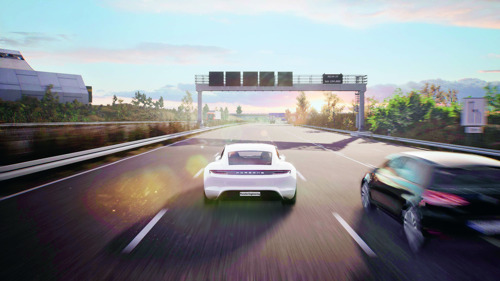 Porsche Engineering is developing the intelligent vehicle of the future with Game Engines
