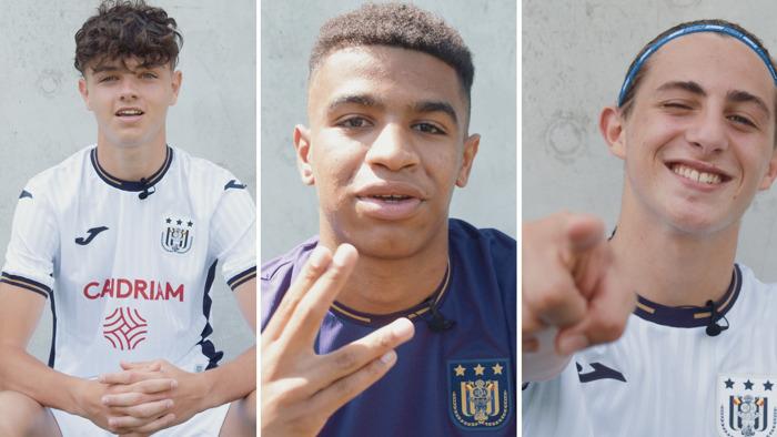 Trois jeunes talents ont signé leur premier contrat