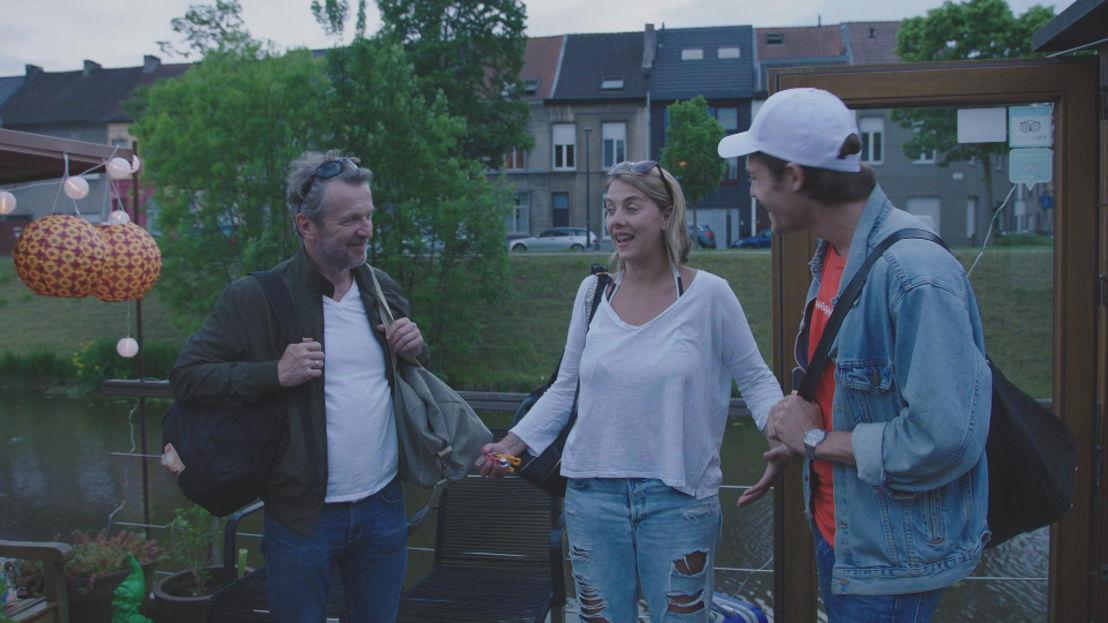 Lucas Van den Eynde, Leen Dendievel & Cesar Casier - Weg zijn wij (c) VRT