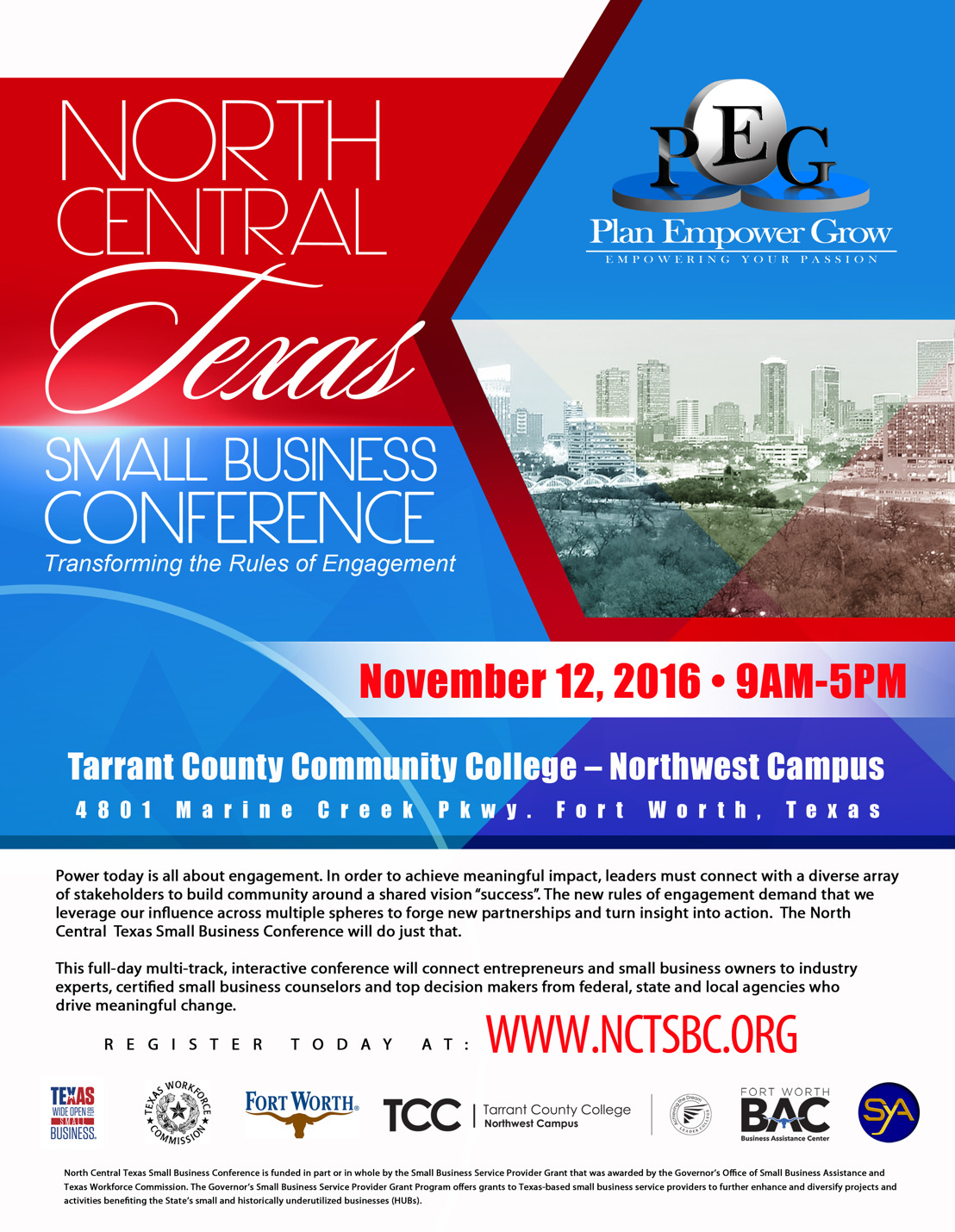 Plan Empower Grow Presents the Inaugural North Central Texas Small Business Conference