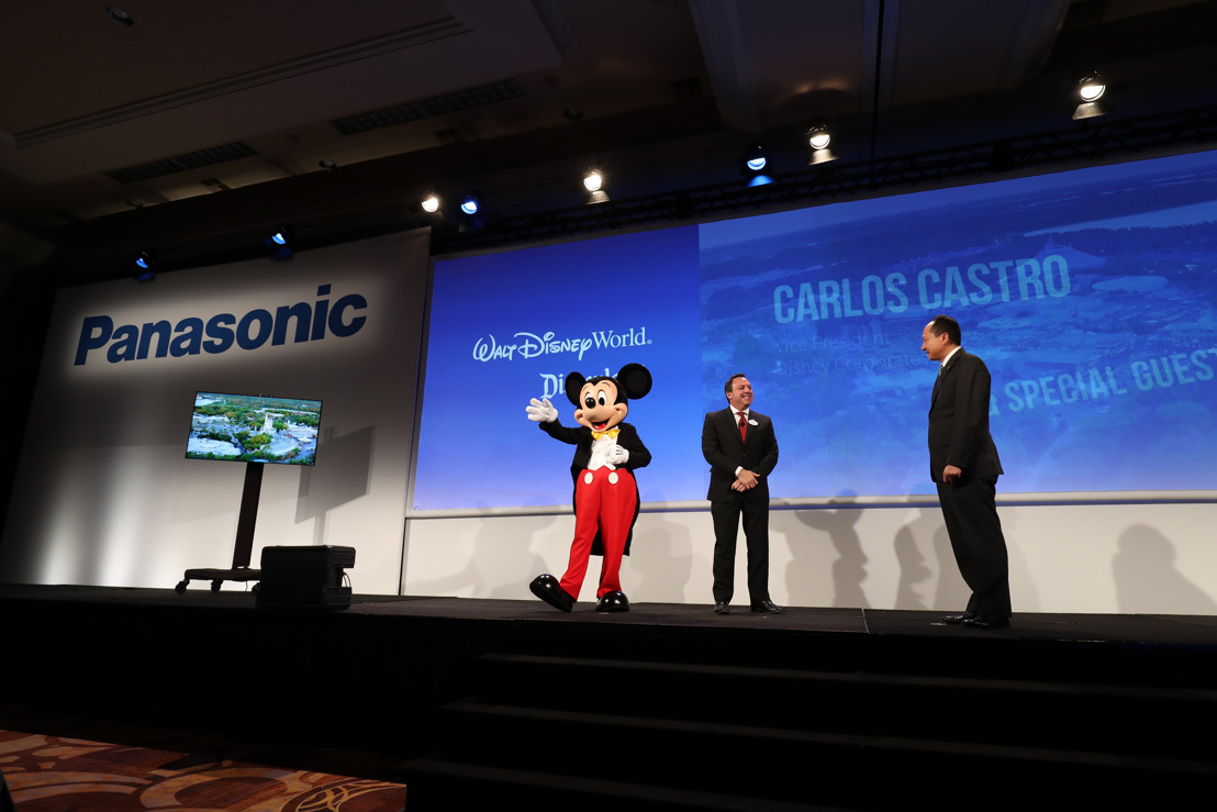 CES 2017: Panasonic consolida una alianza con Walt Disney World Resort y Disneyland Resort