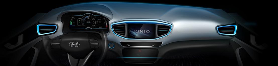 Hyundai heeft nieuwe schetsen vrijgegeven van IONIQ