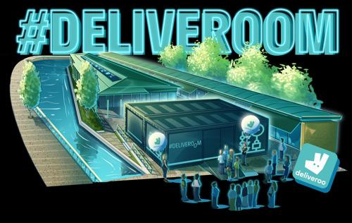 Tutti a casa #Deliveroom il 27 e il 28 settembre