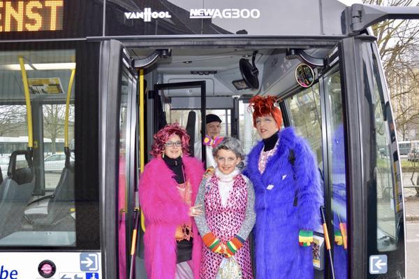 17 600 feestvierders namen de bus naar Aalst Carnaval / (c) Geert Motte
