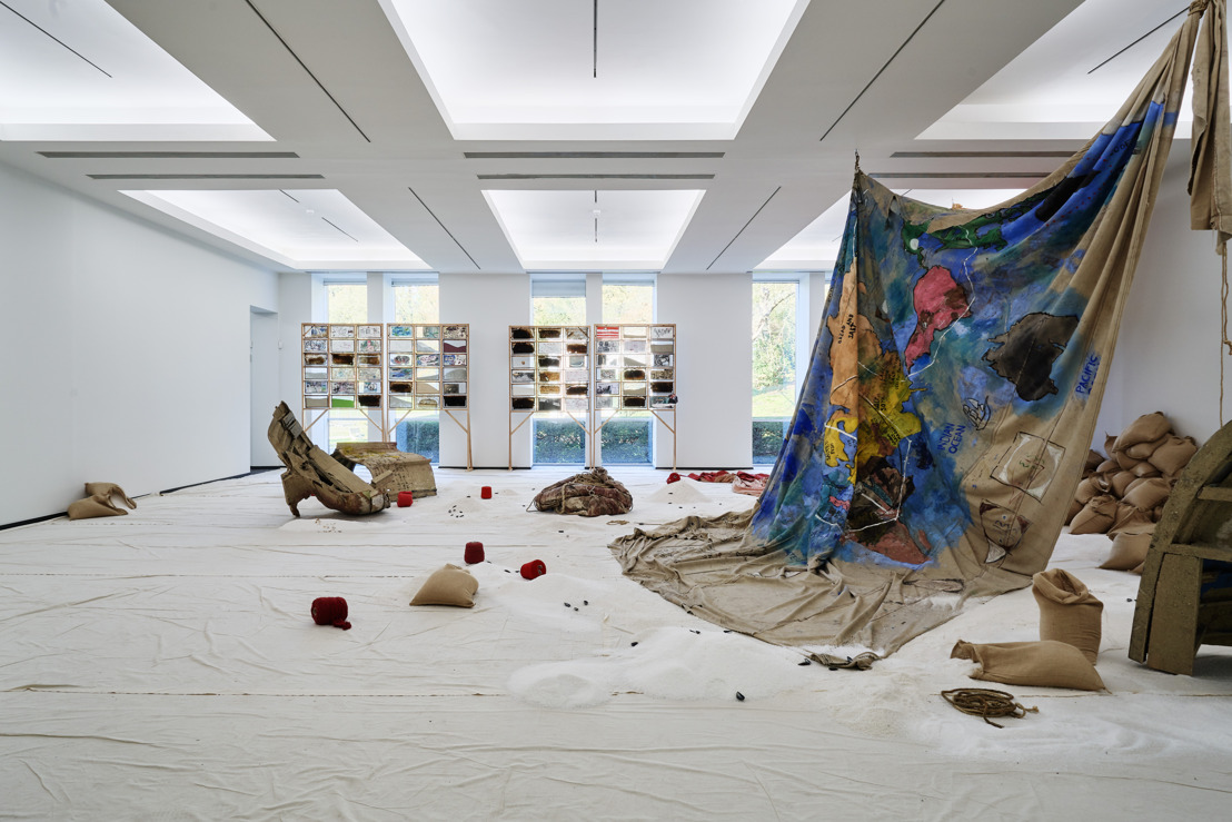 Anna Boghiguian traces the history of cotton trade in her solo show at S.M.A.K. in Ghent